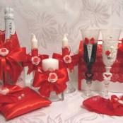 свадьба в красных тонах фото