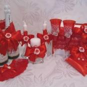 красная свадьба наборы фото