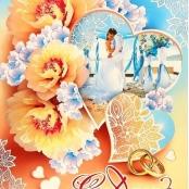 плакат свадебный купить