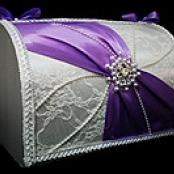 сундучок свадебный сиреневый фото сегодня 19:00