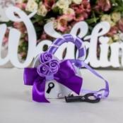 свадебный замочек фиолетовый фото