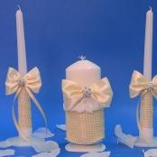 свадебные свчи айвори купить