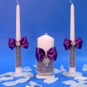 свечи очаг фиолетовые фото