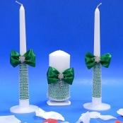 свечи очаг зеленые фото