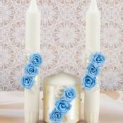 свечи очаг голубые фото sale-svadba.ru