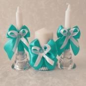 свечи свадебные тиффани фото