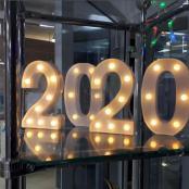 светящиеся цифры 2022 на новый год аренда