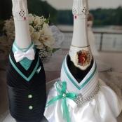 костюмы на свадебное шампанское тиффани фото