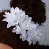 украшение в волосы цветок для прически