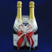 украшение на шампанское фото