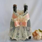 кружевной пеньюар на свадебное шампанское