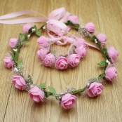 фенок из фоамирана розовый фото