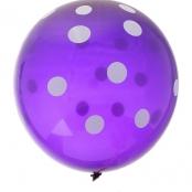 шар фиолетовый, воздушный фиолетовый шар