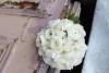белый букует-дублер из ранункулюсов фото