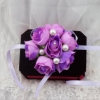 цветы на руку подружкам невесты сиреневые фото