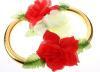 свадебные обручальные кольца на автомобиль, на радиатор