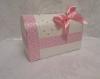 свадебная коробка розовая фото