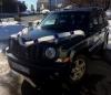 Лента на машину белая с фиолетовыми розами, фатин 002799