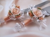персиковая свадьба украшения фото