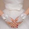 свадебные перчатки короткие купить
