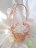 персиковые корзиночка для лепестков роз картинка