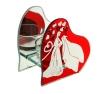 подсвечник в виде сердца купить