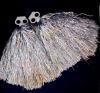 султанчики для танца серебро фото