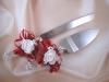 свадебный торт нож и лопатка фото