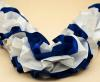 синяя свадьба украшения на машину фото