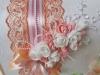 персиковые коробки свадебные фото