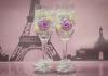 свадебная подвязка с розами