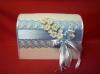 свадебная коробка голубая фото