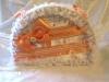 свадебная коробка персиковая фото