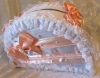 сундучок персиковый на свадьбу фото