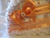 персиковые свадебные аксессуары фото