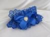 синяя подвязка невесты фото