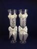 свадебные бокалы с розовыми стразами фото