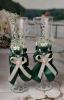 зеленые свадебные аксессуары фото