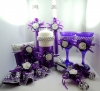 фиолетовая свадьба бокалы на свадьбу для молодоженов купить