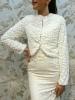 свадебная шубка белая на утепленной подстежке