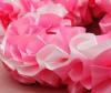 Украшение машины лентами розовая-белая-розовая 3м  002480