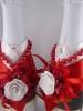 красно-белая свадьба украшения